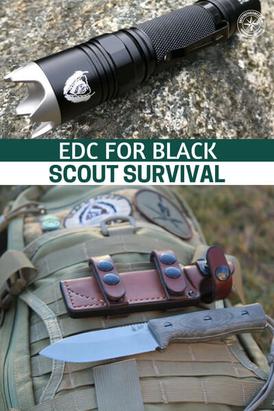 EDC For Black Scout Survival (Video & Transcript) - We have one such loadout here. This is a very special one because it comes from Black Scout Survival. This can be a huge help to see a military trained, true blue survivalist and what they carry. This isn't an EDC for that person who commutes into work. This is the real thing.