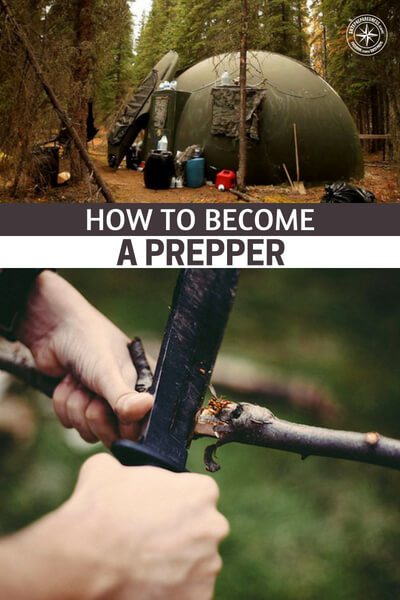 How to Become a Prepper - This might be one of the most interesting instructional articles that we have posted to date. I mean, when is the last time you saw a DIY on how to be a prepper? While you might think this is something to pass up, remember, there are always details that you can pick up.