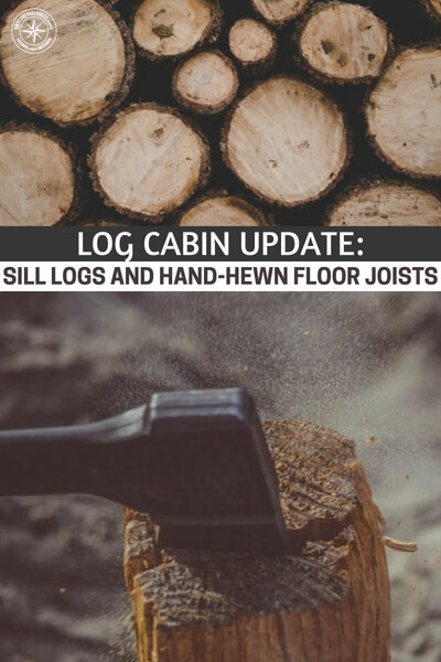Log Cabin Update: Sill Logs and Hand-Hewn Floor Joists - Luckily we have resources all over the internet and have found an article where the process is underway. I am very excited about watching this thing come together and you will learn a lot from it.