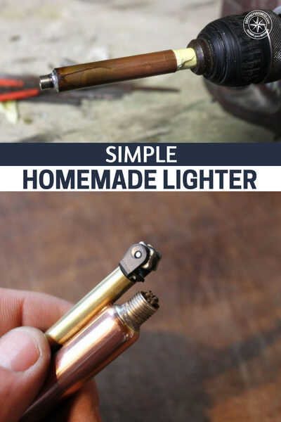 Simple Homemade Lighter - This is a build for a simple homemade lighter. It might be better just to buy a few packs of BIC lighters than make your own but knowing how to make your own will make a huge difference.