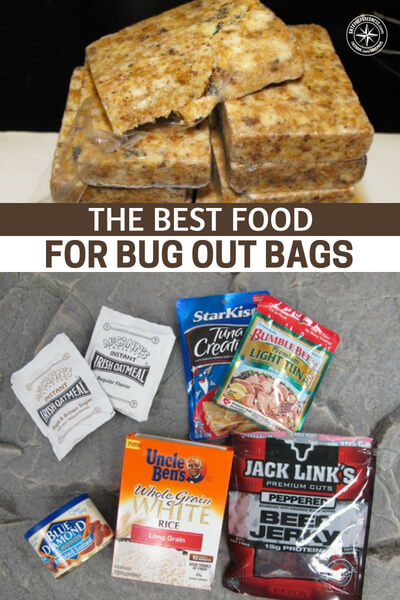 The Best Food For Bug Out Bags - In this article you are going to see a selection of foods that will fit well in your bugout bags. Don't forget, every bag you pack for every family member should have food to support them. That means you need quantity as well. If you can pull this off you will at least have the fuel you need for success.