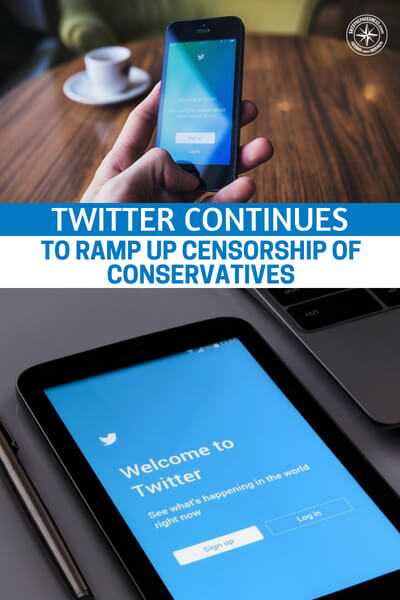 Twitter Continues To Ramp Up Censorship Of Conservatives - What is the future of your tech choices. We have a chilling article here that will rattle you to the bone. There is an interesting air about the world today. Its that we know who the heroes and villains are. Its that the loudest voices are proclaiming innocence.