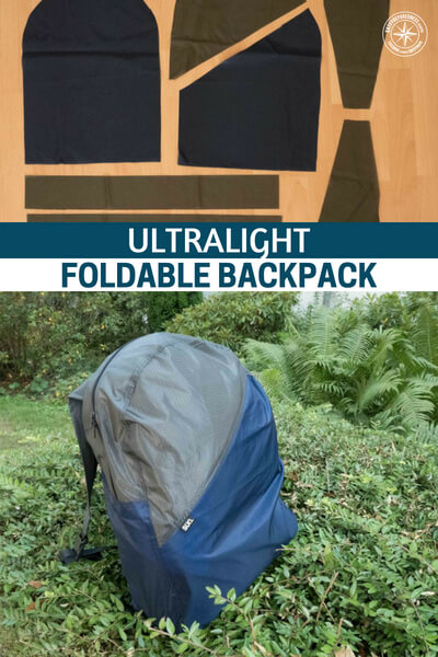 Ultralight Foldable Backpack - This is a great little creation in an ultralight foldable backpack. Have you ever considered fashioning your own backpack? I am sure you haven't and now is the time to consider it. Look into this article and see if its something you might be interested in.