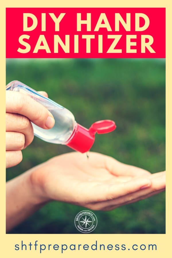 Easy and cheap to make from simple household supplies, this DIY hand sanitizer recipe will have you prepared during a pandemic or SHTF situation.