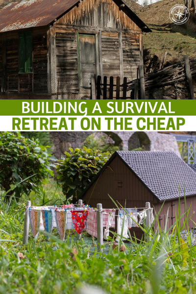 Building a Survival Retreat on the Cheap - This article offers up a method for building a survival retreat without breaking the bank this is incredible information that needs to be considered. Even if you get, just, a small place that you can call your own in times of disaster, it could change everything. Remember, much of what we do is about peace of mind.