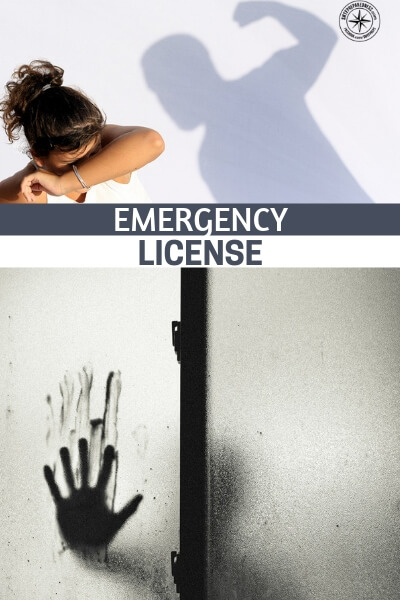 Emergency License - More and more Americans are opting for the CCW license and carrying to stay safe. I would not begrudge them of this. Its a right given to us by the bill of rights. This article is about something a little different.