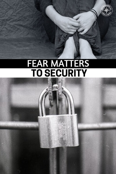 Fear Matters to Security: Control & Use It to Your Advantage - This is a great little article about why fear matters to security. The word security tends to not mean very much but it is a very important and multifaceted concept. The more you can learn about it the better you will be prepared to create your own collapse proof security in the near future.