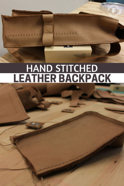 Hand Stitched Leather Backpack - What will you do when the well of resources begins to run dry? Well, how about you stich your own leather backpack. Don't think its possible? Well, I have news for you, this instructable right here will make you think differently.