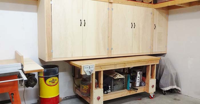 How to Build Large Workshop Cabinets - This is a great little build for creating one piece of a serious large workshop. A wood working or workshop may sound so unappealing to you. You have to understand that this is a necessary part of getting prepared.