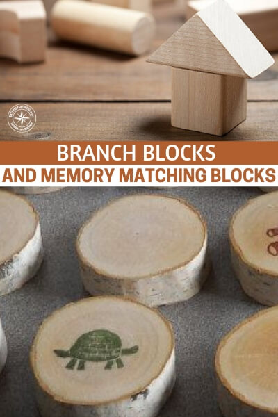 How To Make Waldorf Toys: Branch Blocks And Memory Matching Blocks - These toys are not just incredible tools for early learning but they are also great projects that will give you a ton of one on one time with your kids if you include them in the building of the toys. This article gives you the breakdown on how to create these toys.