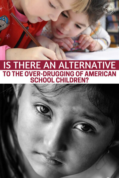 Is There An Alternative To The Over-Drugging Of American School Children? - The children of old had no choice but to play outside. They had not reason to sit inside, they were constantly burning calories. Fast forward 100 years and kids are stagnant at school and at home.