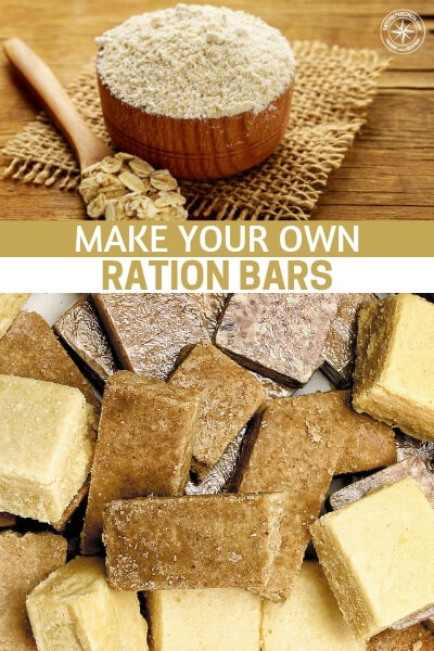 Make Your Own Ration Bars - This article is about making your own ration bars. You are going to make better ration bars than most. A lot of this is because you know what you like and you know where your ingredients come from.