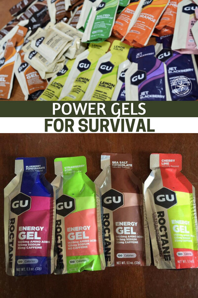 Power Gels for Survival - Mostly, this is because, in survival, we are all going to be after optimal performance from our bodies. There is no other way that you can look at survival. If you have a clunky, beat up, abused body. You are going to struggle in a survival scenario.