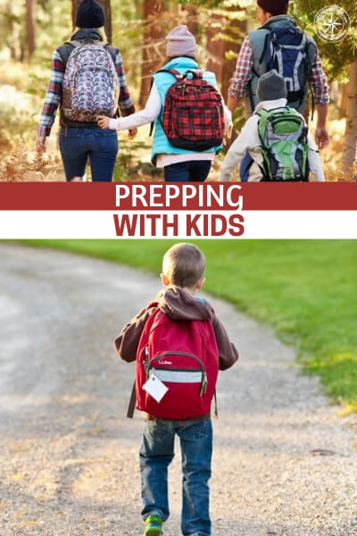 Prepping with Kids and they Won't Even Know it - There are many things that come to mind. Many kids are just short one truly fatherly figure. The problem runs deeper than that. The best dose of help we can give our kids is to make them more self reliant and give them completely to the outdoors. Prepping can offer all of that if you do it right.
