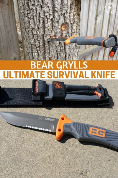 Review: Bear Grylls Ultimate Survival Knife - This is a great little review on his latest blade that is dubbed the ULTIMATE survival knife. Not to many words have take the type of beating that ultimate has over the last decade. That kind of makes sense because we are living through the most ultimate time.