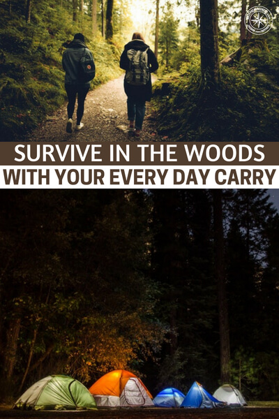 Survive In The Woods With Your Every Day Carry - Its about using the EDC to survive in the woods and it takes an interesting angle. Of course, there will be people who wonder why you would be concerned with that if you live in the city. I can only tell you to read the article and formulate your own opinions on the issue.