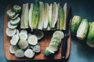 Things to do with Cucumbers! -- Okay! So you've got cucumbers coming out of your ears, if you're reading this during summer harvest time. Which, for cucumbers, can be most of July and August, depending on your growing zone. So what are some things to do with cucumbers?