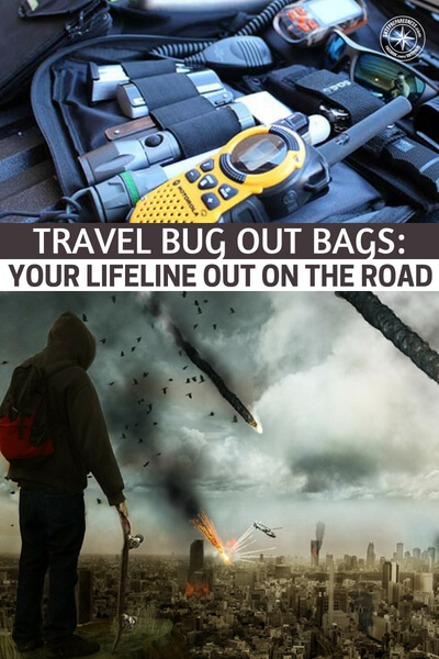 Travel Bug Out Bags: Your Lifeline out on the Road - When we are talking about travel bugout bags we are talking about something that can sustain you away from home even if you can never get back home. This is a deep issue that is delved into in this article. Its something you should sit down and think about before the need arises.