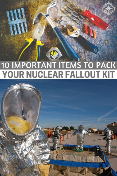10 Important Items to Pack Your Nuclear Fallout Kit - This is a great article that features 10 important items to pack your nuclear fallout kit. You will find some things that are going to help you and your family survive the worst case scenario. While a nuclear blast can vaporize most things in its path, if you are just outside the blast you have a whole new set of things to consider and survive.