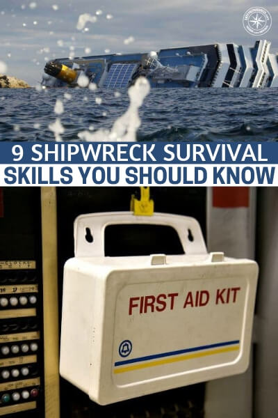 9 Shipwreck Survival Skills You Should Know About - People most often find themselves in the ocean  for cruises, these days. These luxury vessels can and have shipwrecked in the recent years. Do you know how to survive a shipwreck? This is a great article that offers 9 skills you should know about just this topic. This is not urban survival and its not wilderness survival, its very different.