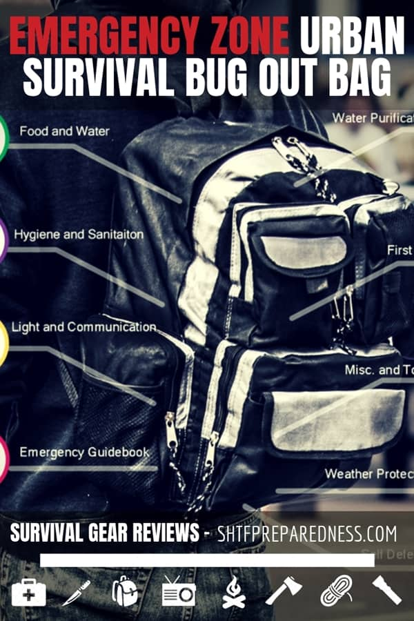 The Emergency Zone Urban Survival Bug Out Bag is the clear answer for those who live in the city and need a bug out bag in the event of a disaster.