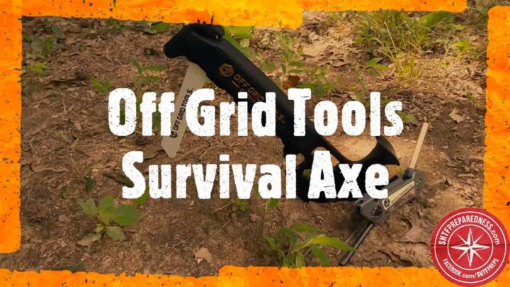 Survival Axe and Companion Pro by Off Grid Tools Review
