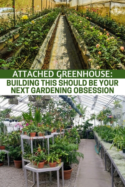 Attached Greenhouse: Building This Should Be Your Next Gardening Obsession - In this article we get a look at the attached greenhouse. This is a cost effective method of green housing because it can both you the structure of your home or shed as well as the heat from the home as well.