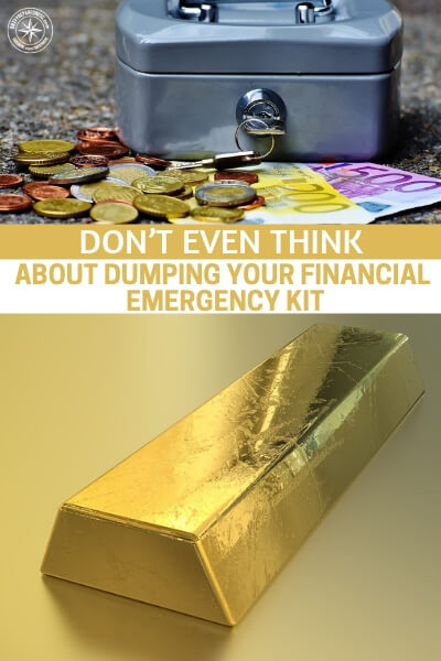 Don't Even Think About Dumping Your Financial Emergency Kit - This is a great article about why you should plenty of time into your financial kit and not drop the thing just because the economy is doing better. We have to be careful about prosperity. The markets aren't here to protect you.