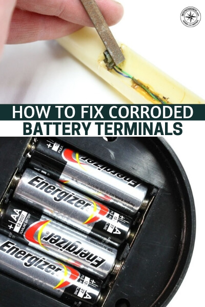 How to Fix Corroded Battery Terminals - Of the many issues you might have with these electronics, batter terminals will be a big one. They will likely be corroded from exposure but that doesn't mean they are useless. This article will teach you how to breathe new life in to those electronics.