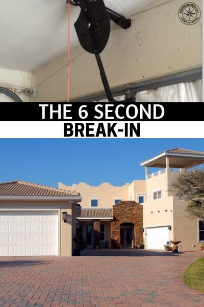 """Preventing Garage Door Break-Ins – The 6 Second Break-In - One method that has been gaining traction for breaking into homes with garage doors has been dubbed """"The 6 Second Break In."""" With a little pressure and a coat hanger, an intruder can quietly enter your home through the garage, regardless of whether you are home or not. A garage can be a convenience, but don't let it be the weakness as an easy entry point for your home."""