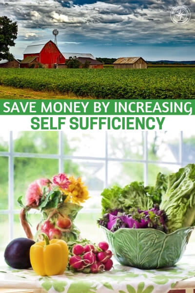 Save Money By Increasing Self Sufficiency - This is an interesting article that might get you thinking about your option. It is about saving money through self sufficiency. While this may seem like something silly, it is most certainly the opposite. There are real benefits to be had from living a self sufficient lifestyle.