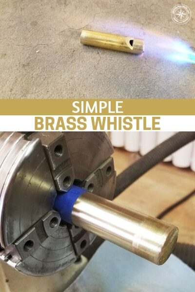 Simple Brass Whistle - There is also something to be said about creating your own pieces of your survival kit. When you add that personal touch it always means more to you. You care for a it a little more. There are also opportunities for entrepreneurship and creating more types of survival gear.