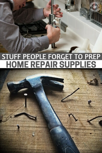 Stuff People Forget to Prep – Home Repair Supplies - This article will drive home that point as it explores the topic of the things people forget to prep. You will get a list of items that you, too, might  need to consider on your next trip to the hardware store.