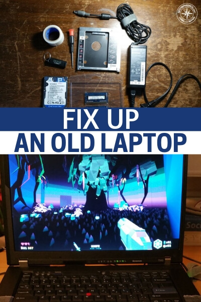Fix Up an Old Laptop! - This is a great little article that is born of the tech niche. What is important to understand is that all niches funnel back to prepping and when you consider the effectiveness of tech in our preps you will quickly understand that.