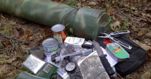 How To Use A Survival Cache - The survival cache can save you money by turning any area into a bug out location. They can also effect space by increase your storage area. Suddenly, if it can be buried it can be cached. That makes a huge difference.