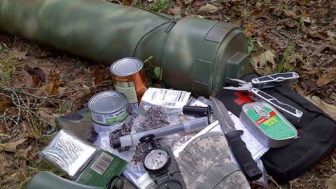 How To Use A Survival Cache