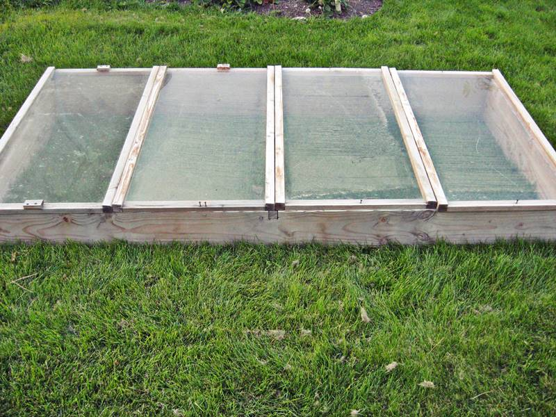 Building a Cold Frame for a Winter Garden - Building a cold frame and learning to garden in the fall and winter is the first step to extending your growing season to 365 days a year.