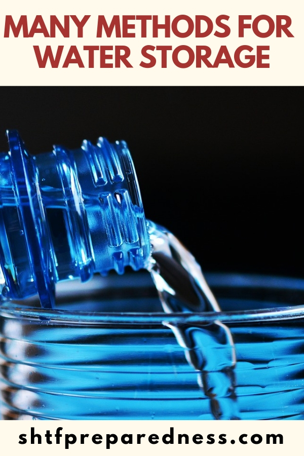 For many preppers it all starts with water. It could be a toss up between the need to hurry up and fill food storage needs or the rush to deal with water storage. Inherently, we all understand just how important these needs are.
