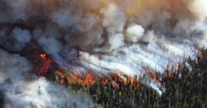 Between the hurricanes and the wildfires its clear that we are dealing with something that is not going a way.