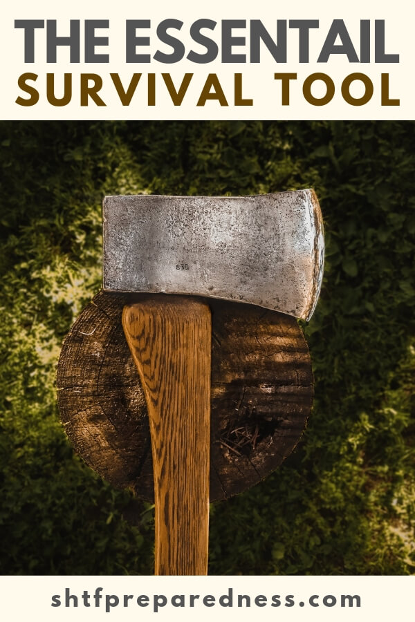 There is something else that comes to mind when you think of the essential survival tool and that is the short handled axe. Most preppers don't consider it but if you are surrounded by trees you better start appreciating it.
