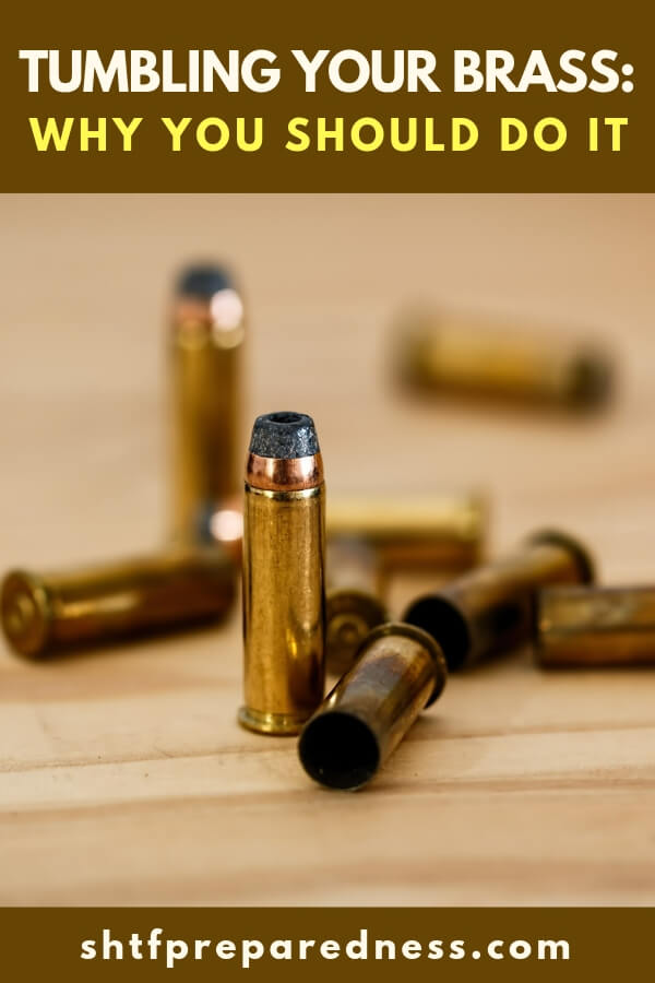Tumbling your brass before you reload your spent casings makes your cases as good as new, free of minor damage and dirt, and will save you a ton of money!