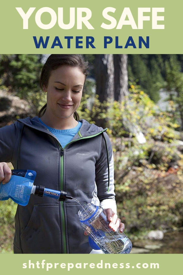Your Safe Water Plan - Having a safe water plan can change all of that. You see water is a multi tiered resource and you should approach it as such.