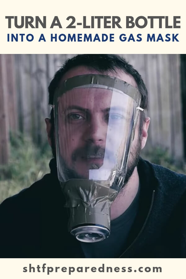 Here's a fun DIY project for you. You can turn a 2-liter bottle into a gas mask that will protect you from things like pepper spray and tear gas.