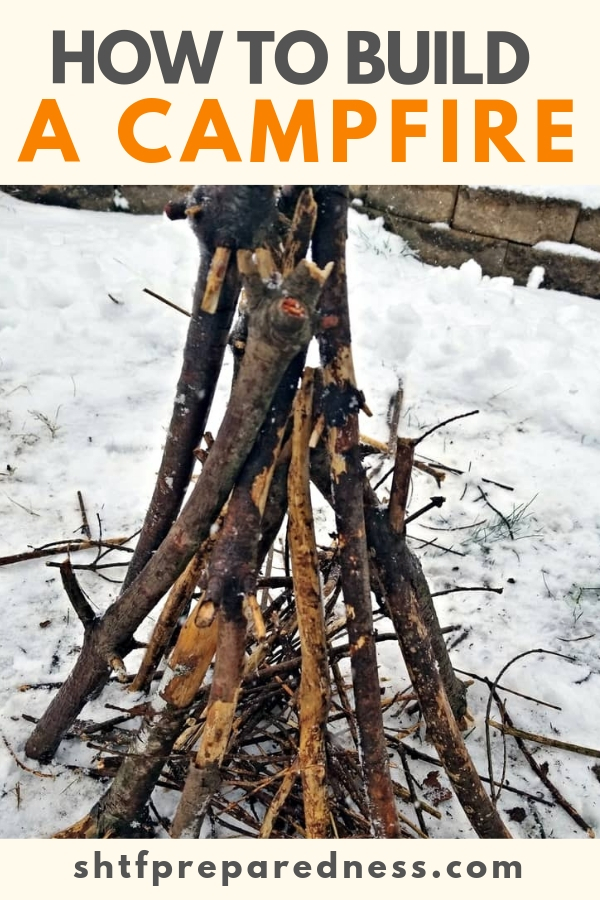 A good campfire doesn't happen; there is an art to building a campfire correctly. It takes the right tools, the right fuel and a bit of practice to build a campfire correctly.