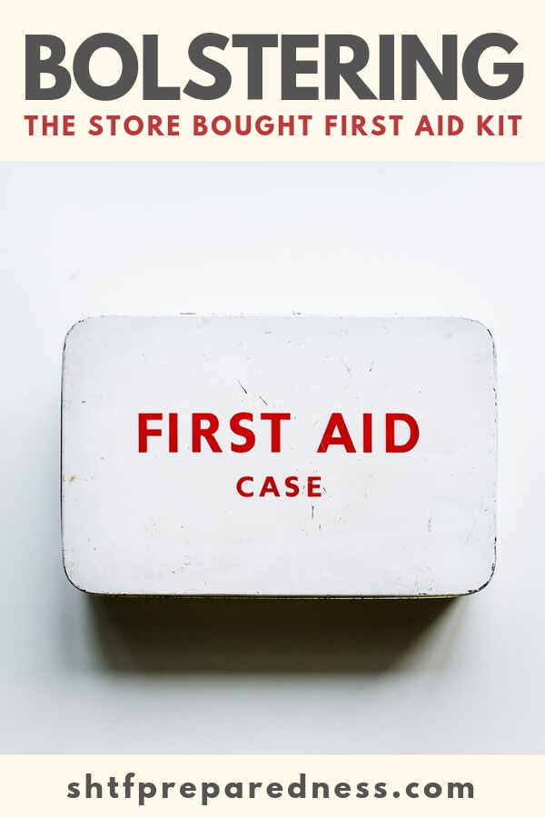 There are some people making some serious first aid kits out there today.