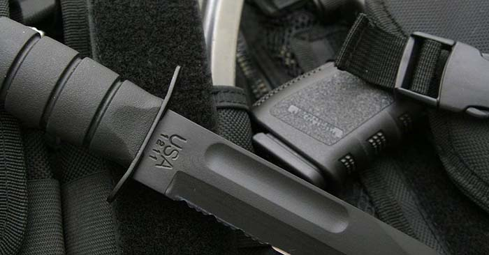 A tactical combat knife is a knife designed for combat and other military purposes. Typically this means it is a last-ditch weapon for hand-to-hand combat, but more expansively it could be considered a knife for the tasks one is likely to encounter in combat.