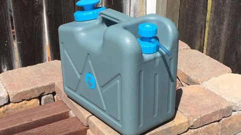 Powerful 4 Gallon Pressurized Jerry Can for Preppers