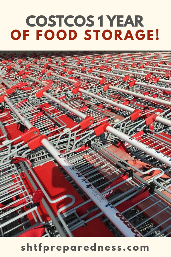 Did you know that Costco has entered the world of emergency food storage?