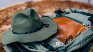 In this modern age its strange to see people in wide-brimmed hats that look more like something a cowboy should wear. However, these hats were very common in the past because of their ability to protect the wearer from things and even help them on the trail.