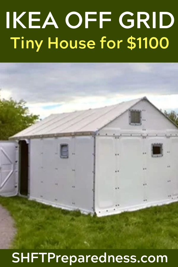 Have you been thinking about building your own off grid tiny house? Can you believe they have that at IKEA now, too? Seriously, IKEA has everything! Let's take a look.